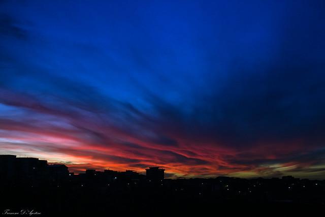 Il cielo di ieri