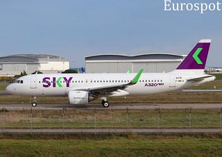 F-WWIA Airbus A320 Neo SKY