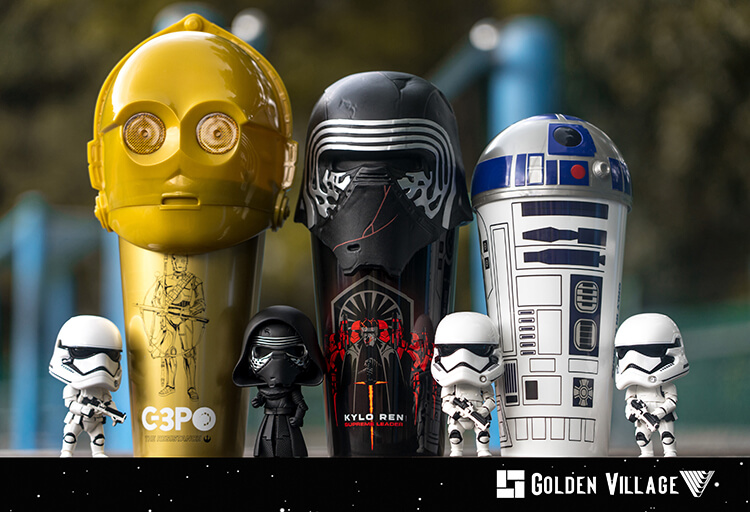 Kombo Star Wars Desa Emas Set