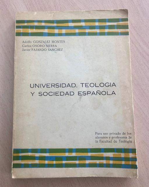 Libro de González Montes y Osoro