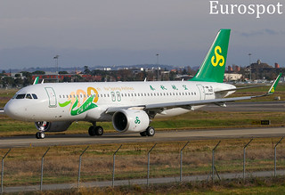 F-WWID Airbus A320 Neo Spring