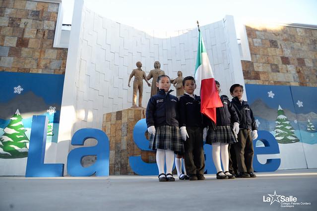 Honores a la Bandera Preescolar