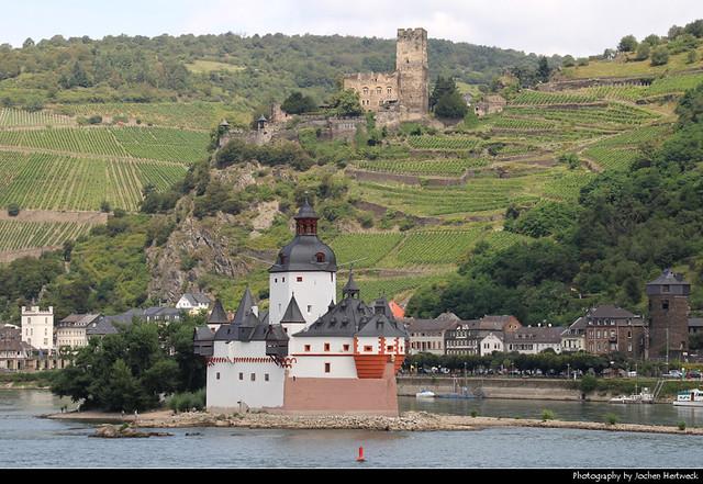 Burg Pfalzgrafenstein & Burg Gutenfels, Kaub, Germany