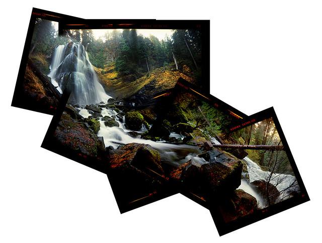 Falls Creek Falls falling