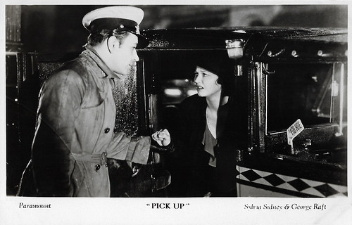 Sylvia Sidney and George Raft in Pick-up (1933)