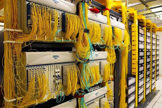 A fiber network