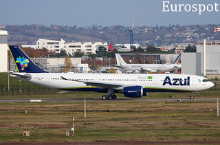 F-WWCK Airbus A330 Neo Azul