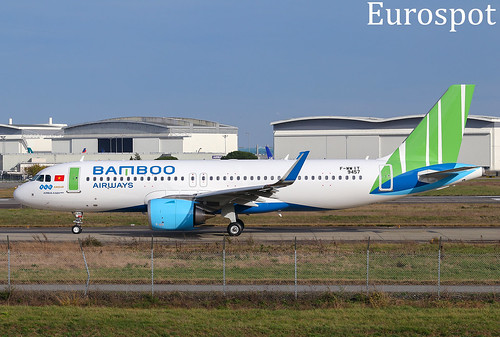 F-WWIY Airbus A320 Neo Bamboo Airways | by @Eurospot