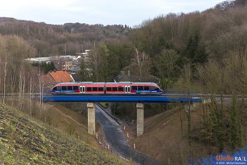 643 221 . DB . Stolberg-Hammer . 15.12.19.