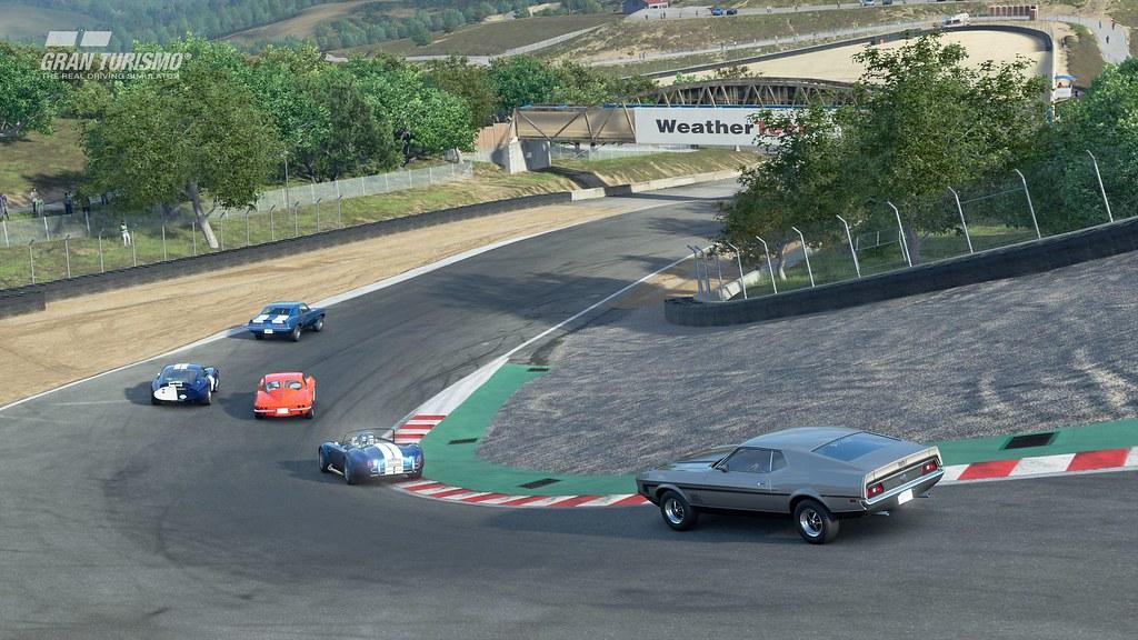 Gran Turismo Sport: Laguna Seca