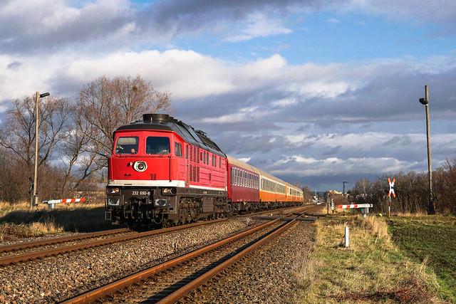 232 690 Erfurter Bahnservice Gesellschaft mbH | Quedlinburg | Dezember 2019