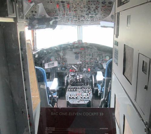 BAC 1-11 Cockpit