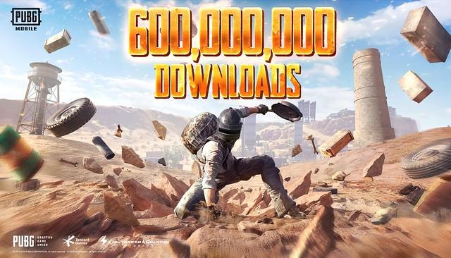 600 Million Downloads Banner