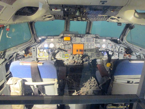 Hawker Siddeley Trident Cockpit