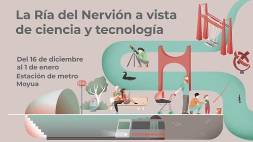 La Ría del Nervión a vista de Ciencia y Tecnología