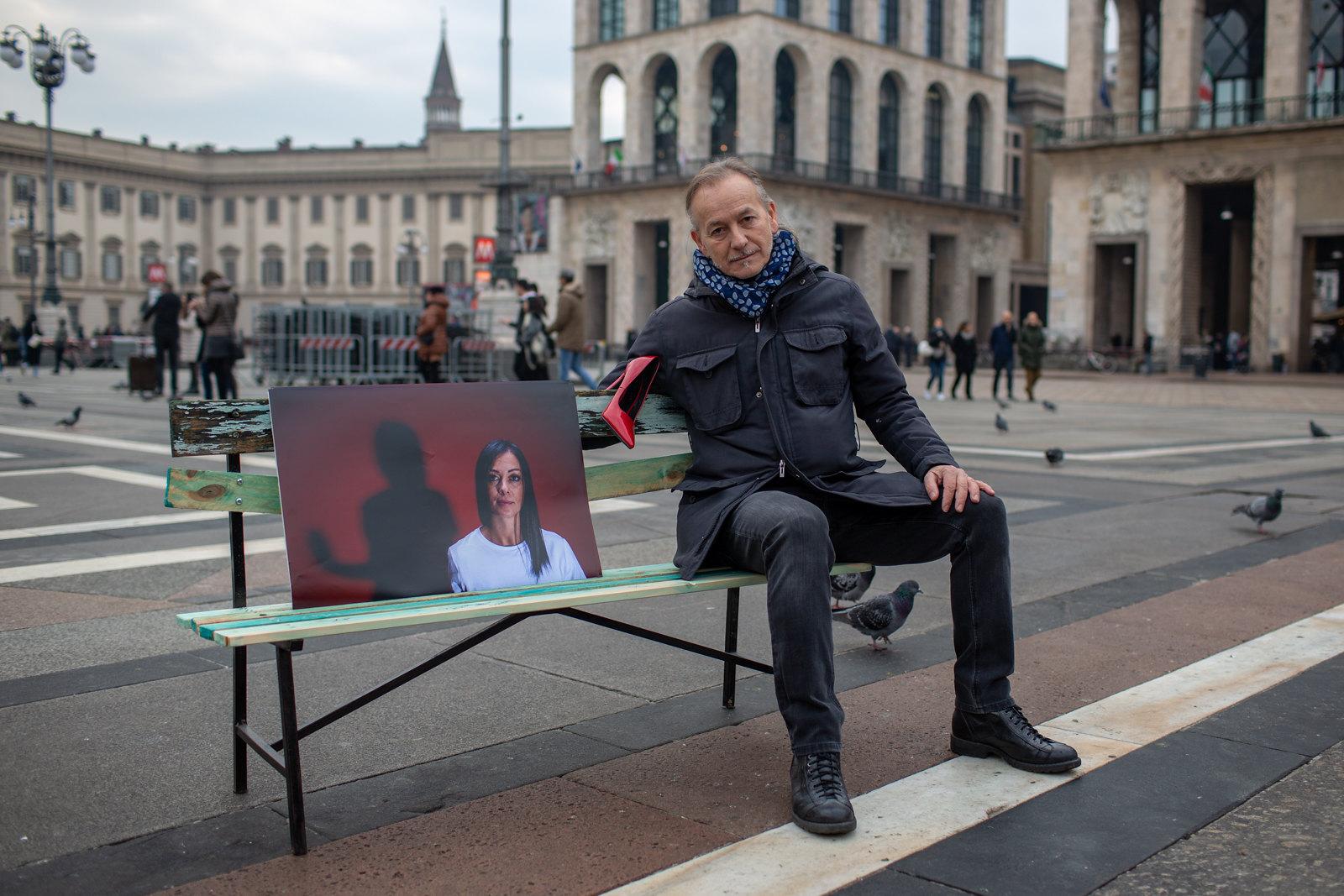 L'ARTE CONTRO LA VIOLENZA - Panchina Itinerante 2/2