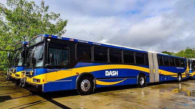 DASH Alexandria Transit Company 2002 Neoplan AN460s