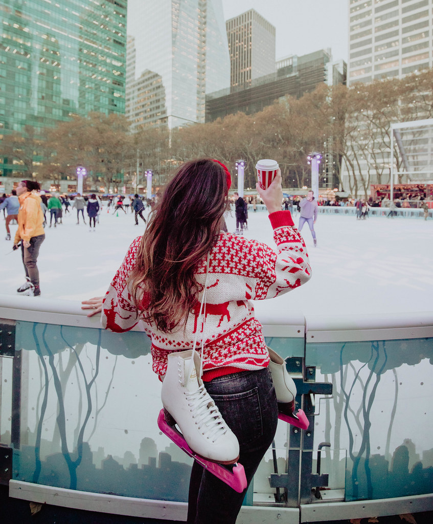 Bryant Park Ice Skating Rink New York City