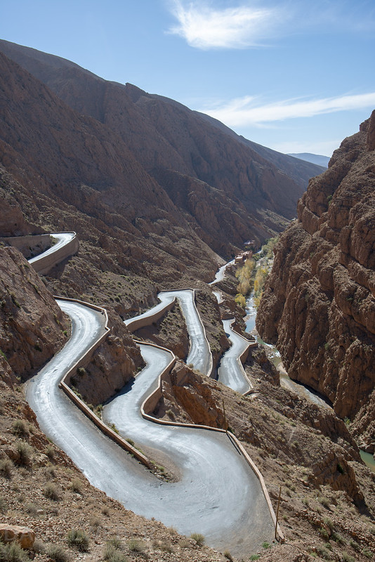 Gorges du Dadès, Gorges du Todgha