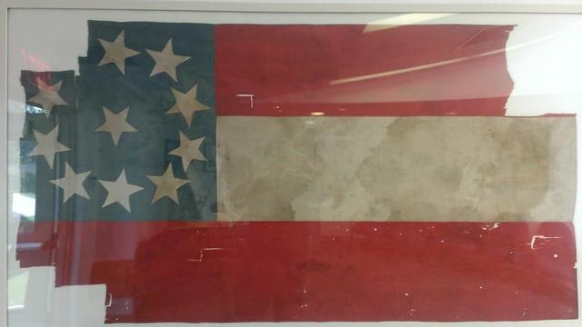 Wilson's Creek Confederate Flag, Wilson's Creek National Battlefield 9/7/2013