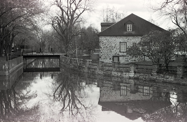 The Old Fur Trade House on the Canal