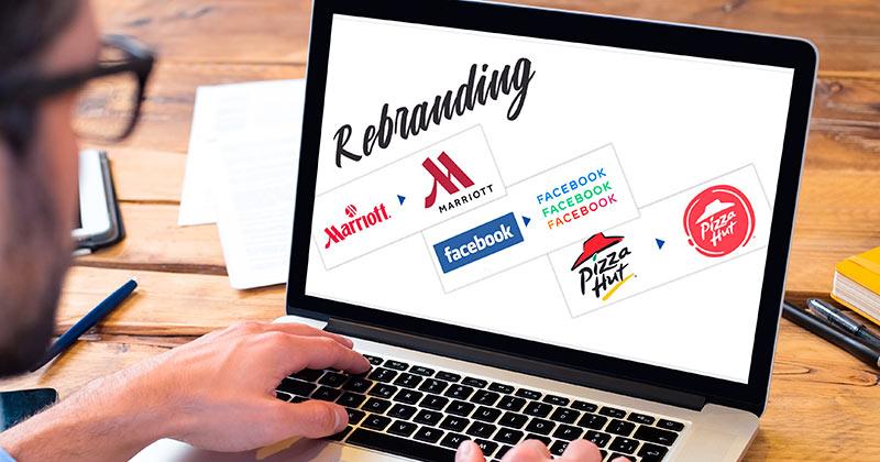 Los mejores (y peores) rediseños de logos del año | Rebranding de marcas