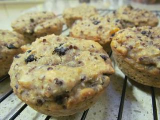 Almond-Quinoa Muffins