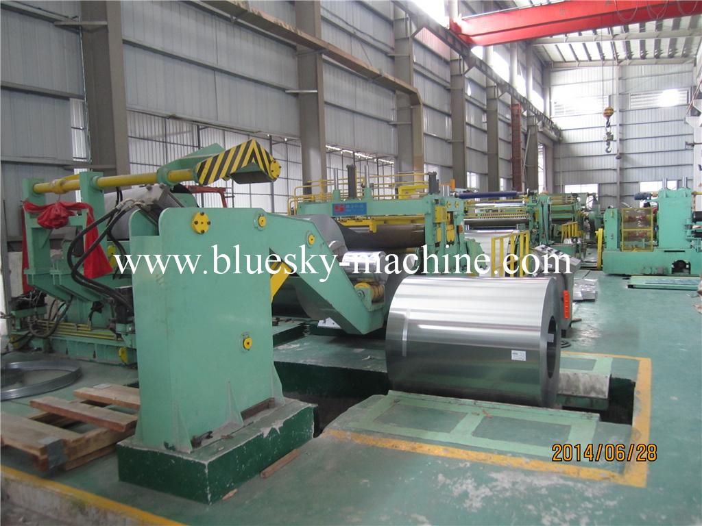 SS Slitting Line Machine material platform