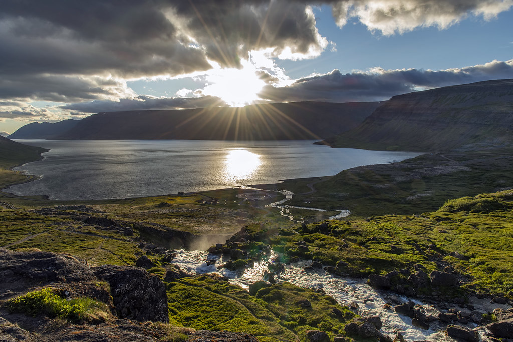 Arnarfjörður from Dynjandi