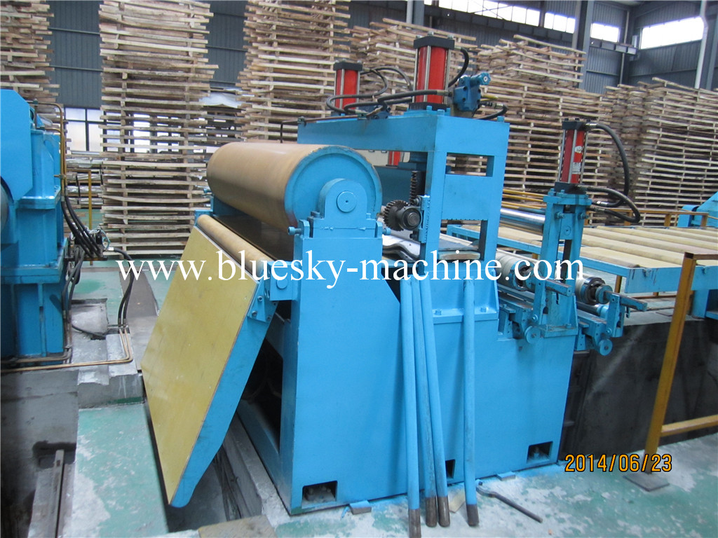 slitting machine damping tension unit
