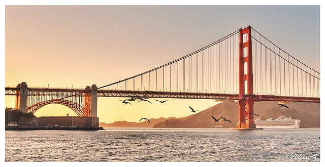 Golden Gate Bridge, San Francisco, California -100