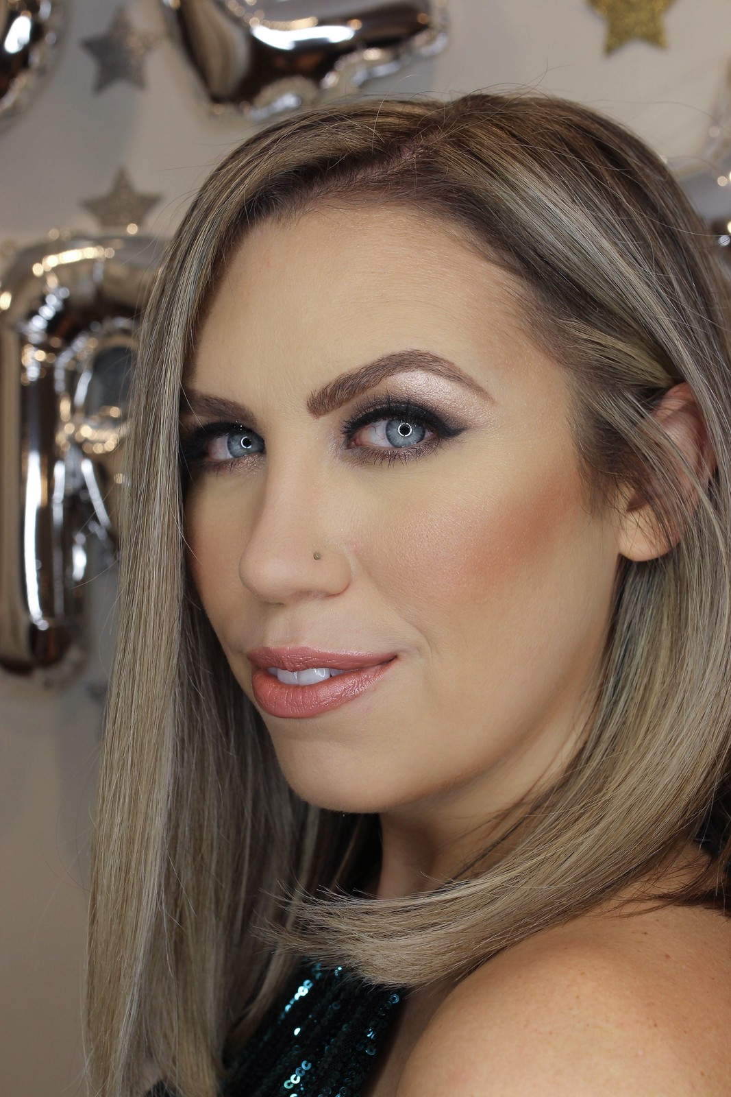 Glam Holiday Party Makeup Tutorial Smokey Eye