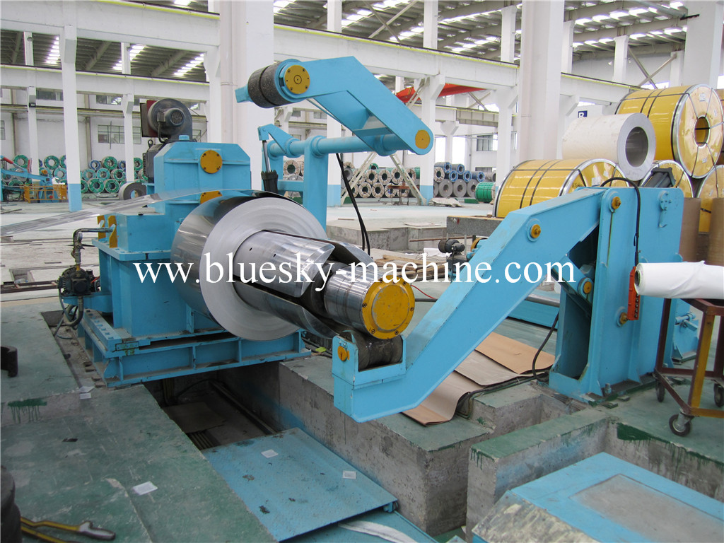 slitting machine hydraulic coil car