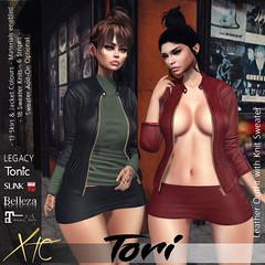 Tori Leather Set