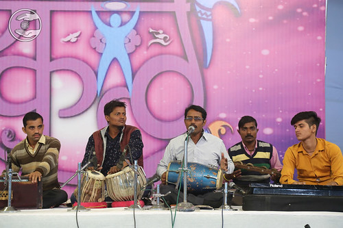 Devotional song by Adarsh Ji and Saathi from Orai