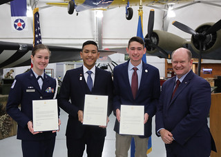 Senator Coons surprises Delaware students with service academy nominations | by senatorchriscoons