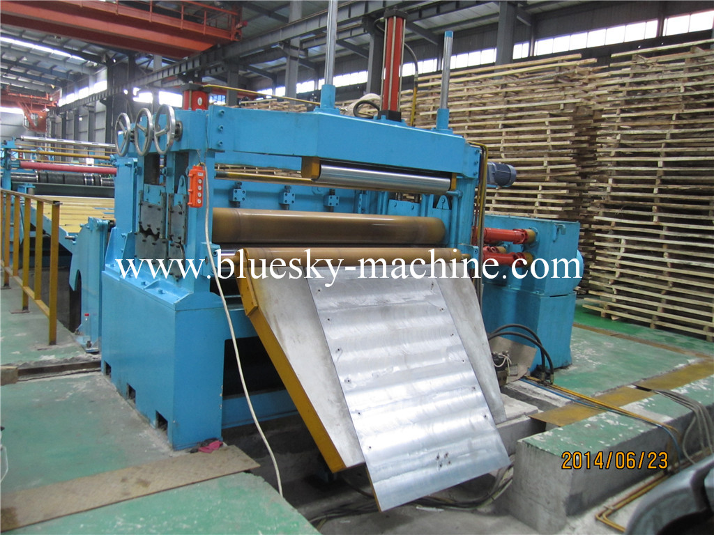 slitting machine hydraulic snubber roll