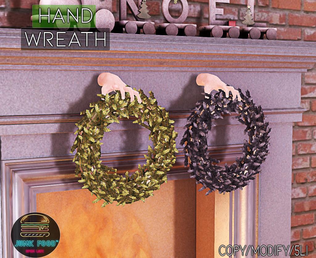 Junk Food – Hand Wreath Ad
