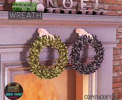 Junk Food - Hand Wreath Ad