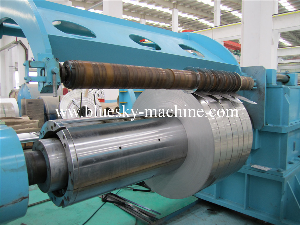 slitter machine process