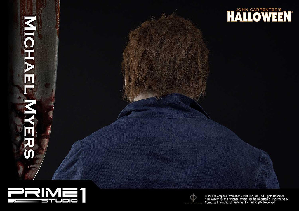 極為強烈的不祥氣息! Prime 1 Studio《月光光心慌慌》麥克·邁爾斯 Bonus 版本 マイケル・マイヤーズ ボーナス版 HDMMHW-01S 1/2 比例全身雕像