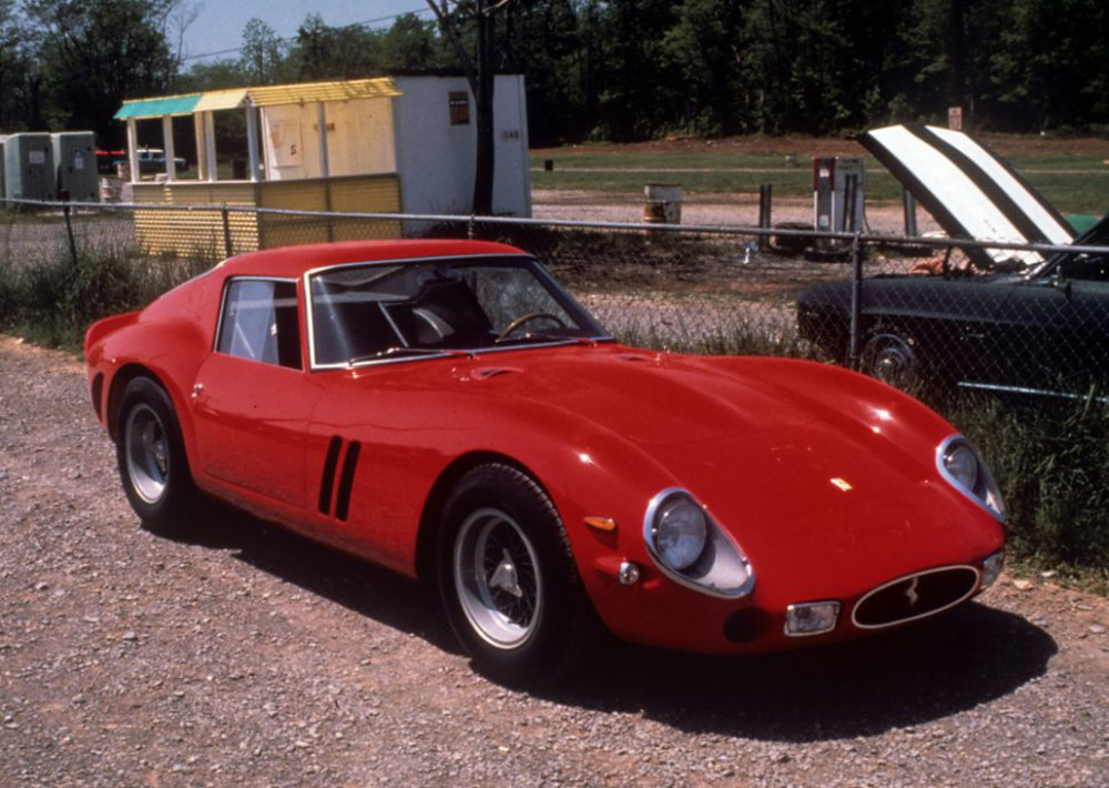 1978  the car was repainted red in 1975 by then-owner Stephen Griswold. Photo courtesy Marcel Massini