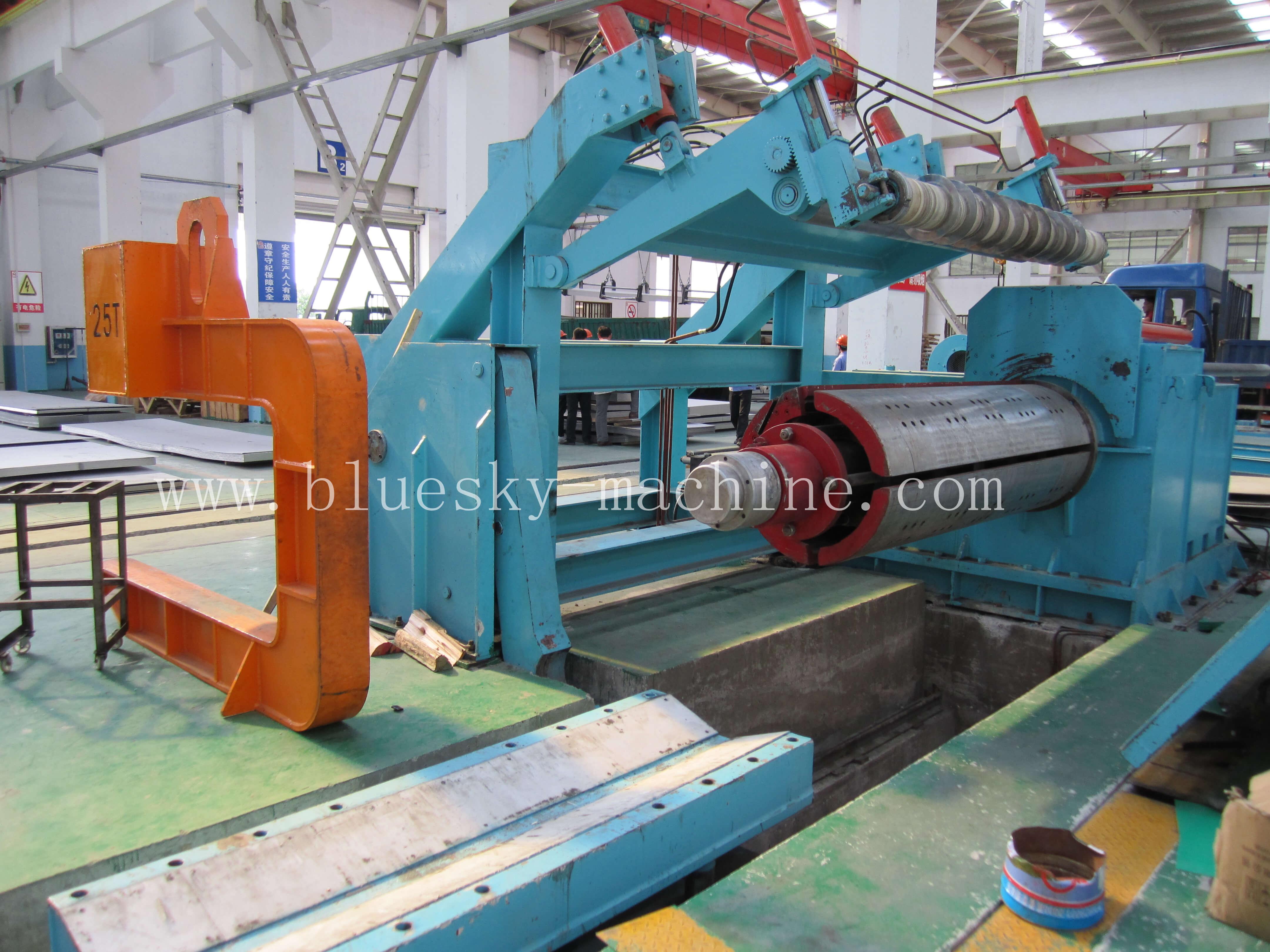 slitting machine coil separator