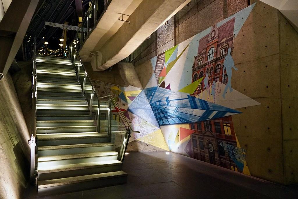 Escaliers, Montreal, Quebec, Canada
