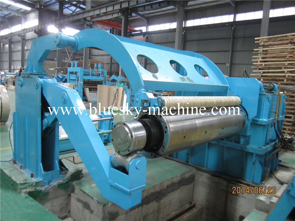 slitting machine recoiler