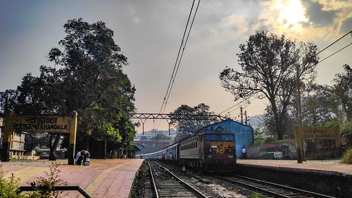 11024sahyadriexpress wcam3 khandalastation bhorghat sunrise