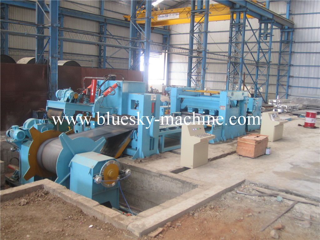 steel cut to length line india