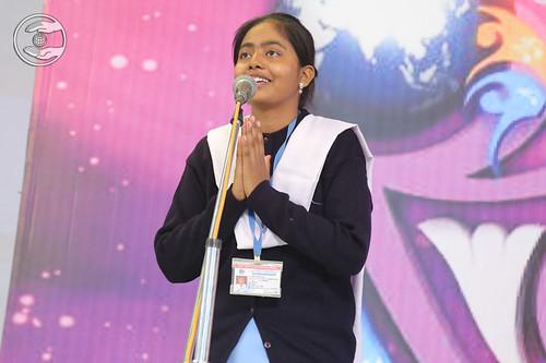Sewa Dal volunteer expresses her views
