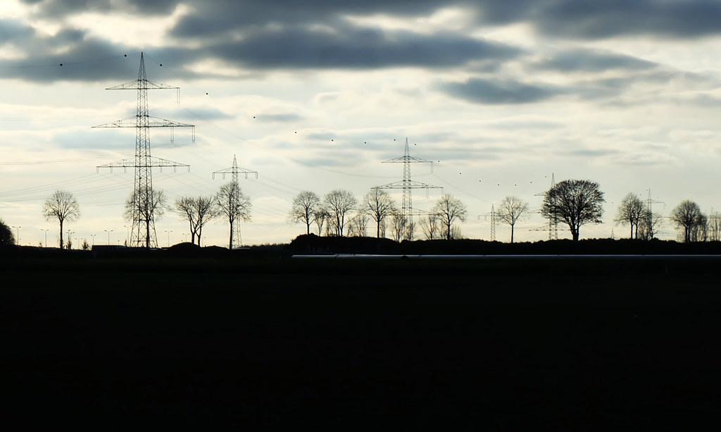 高壓電網的建設對於歐洲再生能源配比提高佔有一席之地。攝影:陳文姿