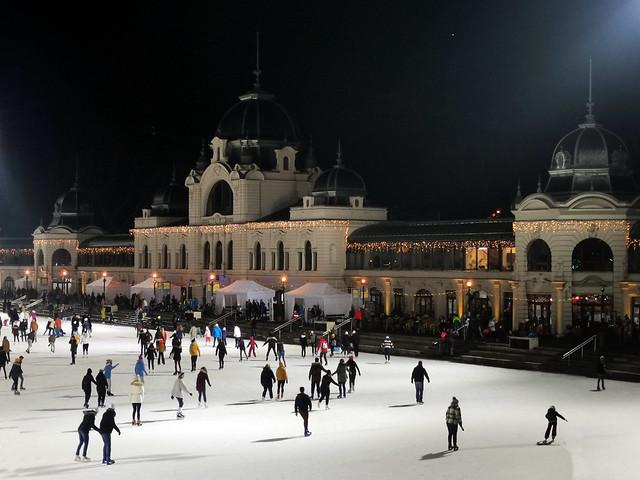 City Park Ice Rink - Budapest, Hungary